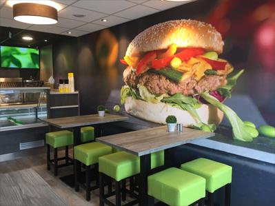 Te koop cafetaria te koop Big Bread formule Krimpen aan den IJssel