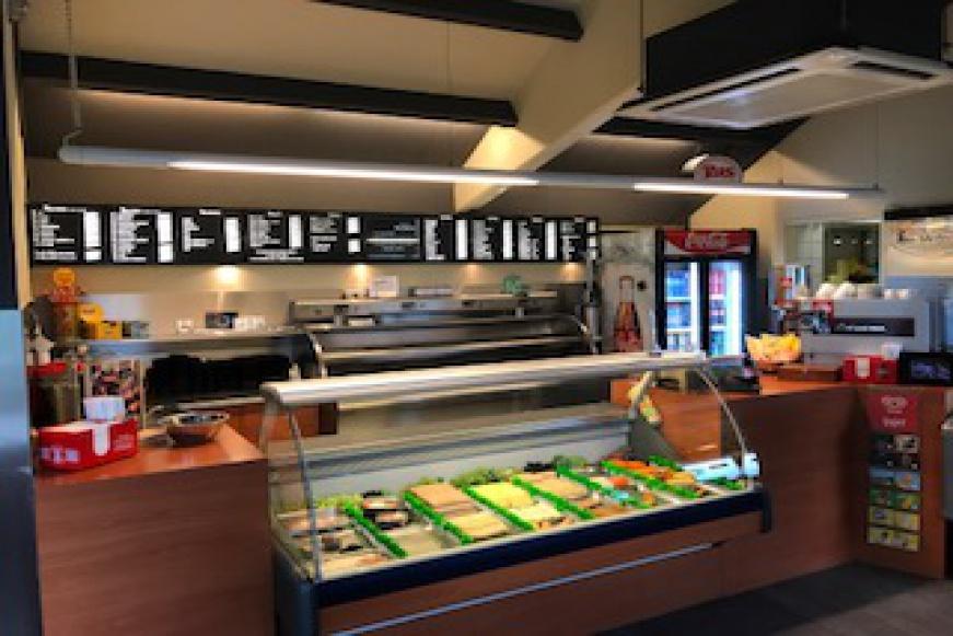 cafetaria snackbar